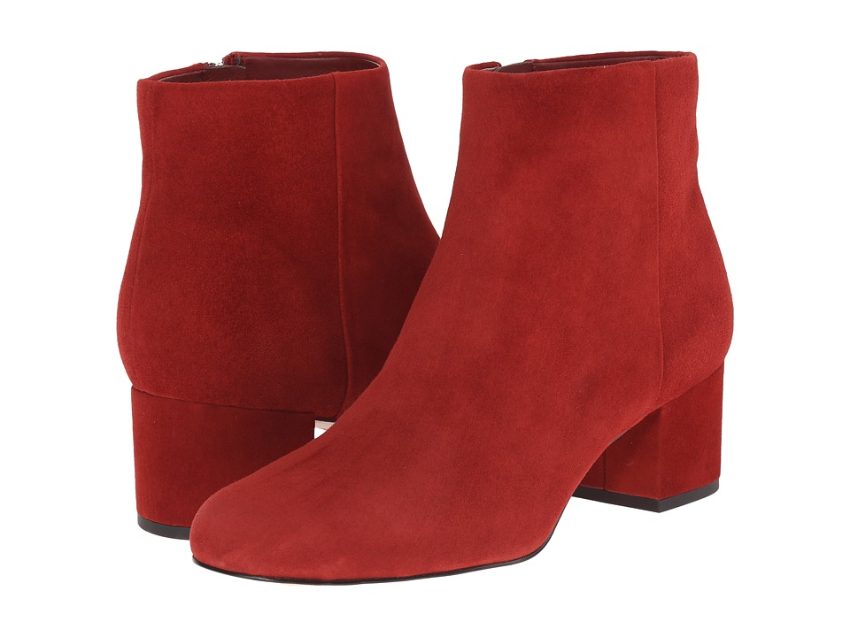 Sam Edelman - Edith (Rust Red Suede) Women
