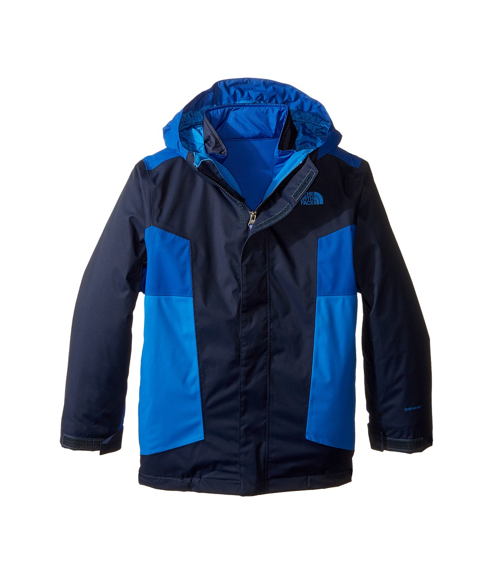 The North Face Kids - Axel Triclimate Jacket (Little Kids/Big Kids) (Cosmic Blue) Boy's Coat