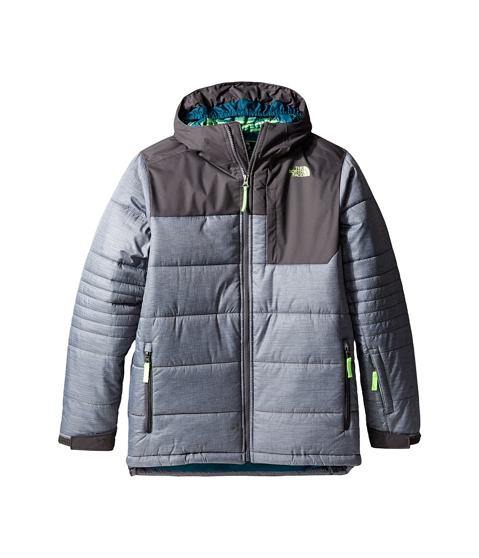 The North Face Kids - Caleb Insulated Jacket (Little Kids/Big Kids) (Graphite Grey Heather) Boy's Coat