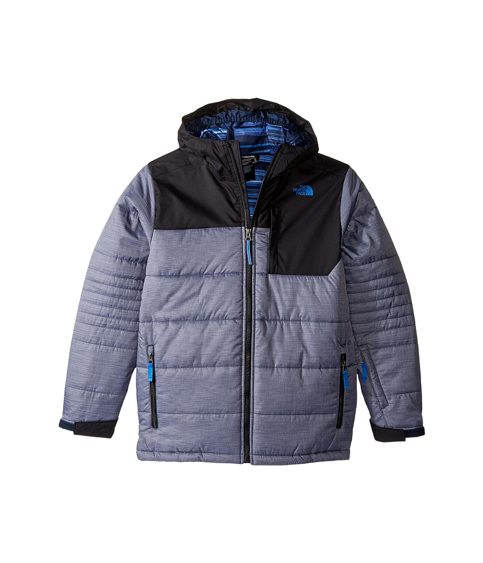The North Face Kids - Caleb Insulated Jacket (Little Kids/Big Kids) (Cosmic Blue Heather) Boy's Coat
