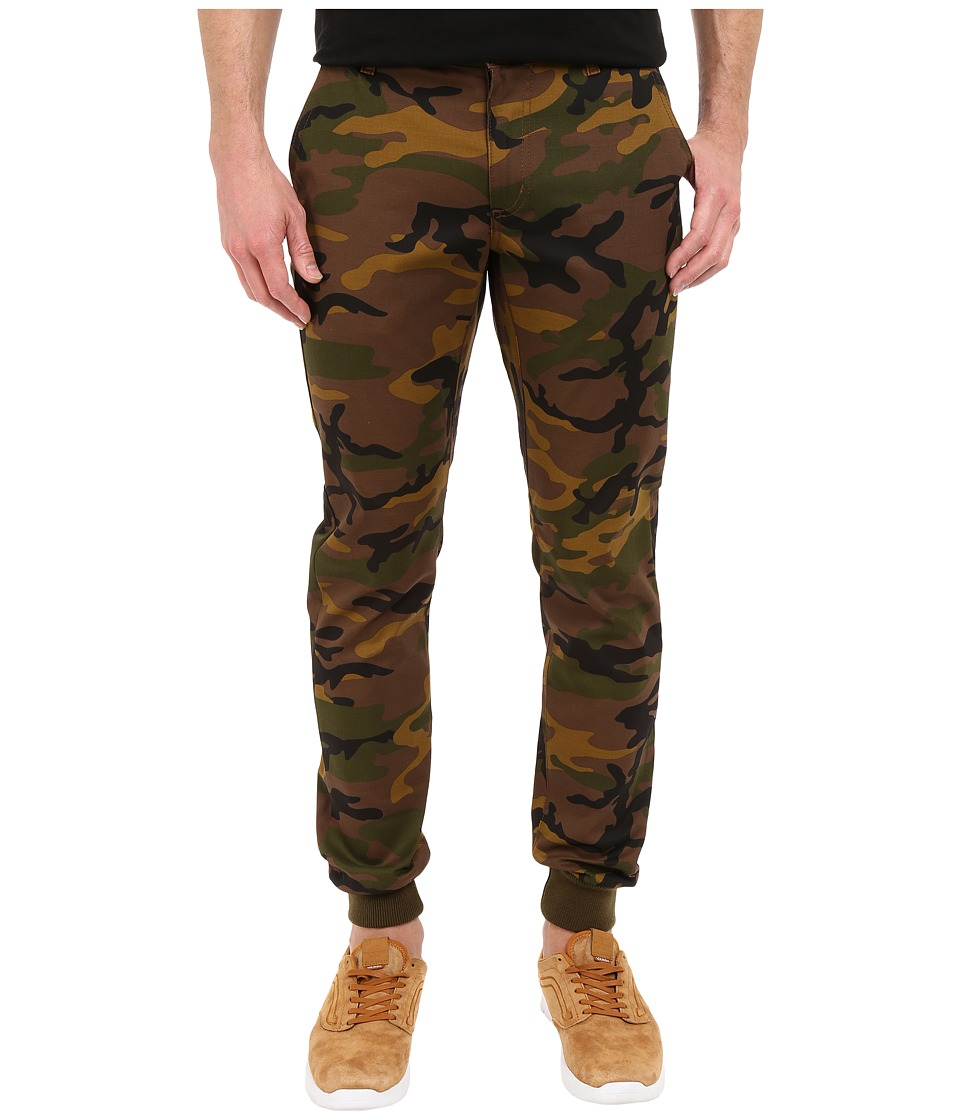 Rustic Dime - Sunset Jogger in Camo Stretch Twill (Camo Stretch Twill) Men's Casual Pants