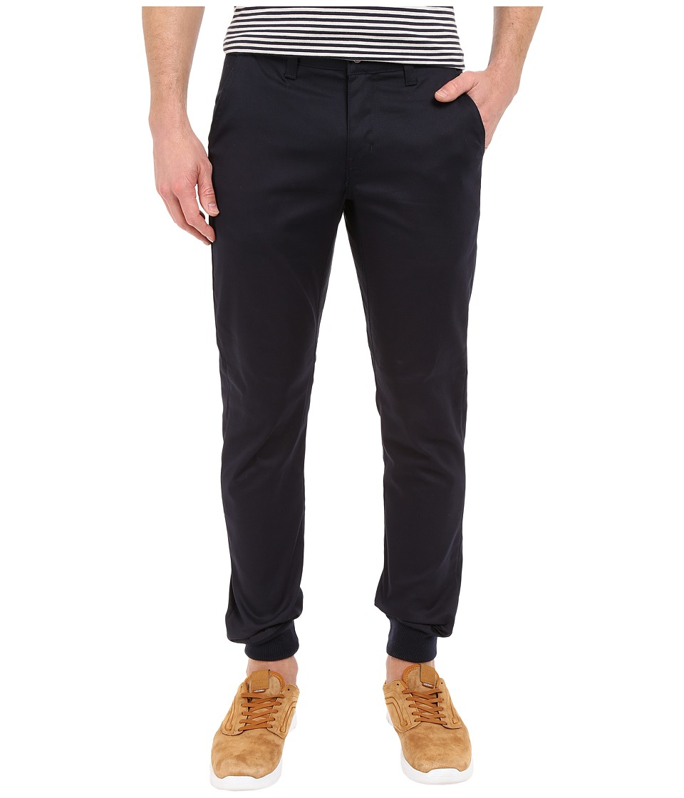 Rustic Dime - Sunset Jogger in Navy Stretch Twill (Navy Stretch Twill) Men's Casual Pants