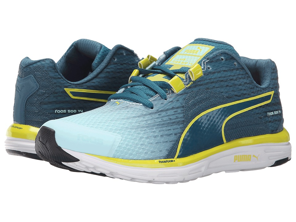 PUMA - Faas 500 v4 (Clearwater/Blue Coral) Women