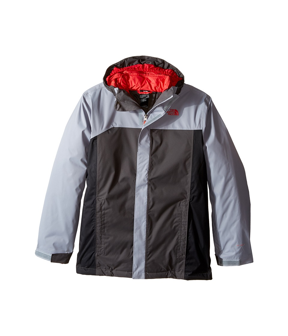 The North Face Kids - Boundary Triclimate Jacket (Little Kids/Big Kids) (Mid Grey) Boy's Coat