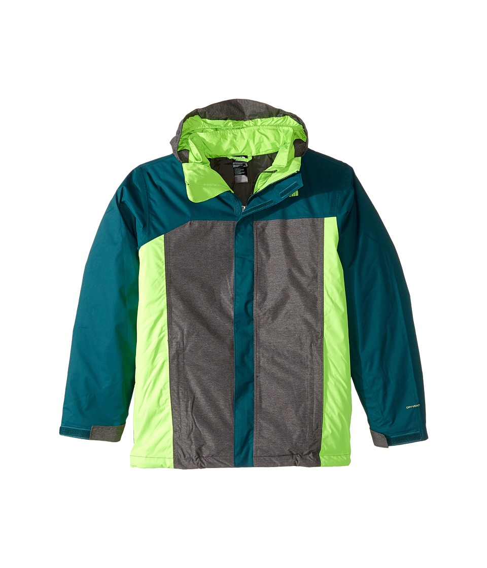 The North Face Kids - Boundary Triclimate Jacket (Little Kids/Big Kids) (Deep Teal Blue) Boy's Coat