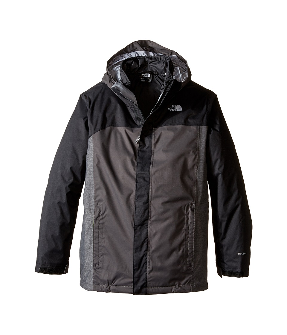 The North Face Kids - Boundary Triclimate Jacket (Little Kids/Big Kids) (TNF Black) Boy's Coat
