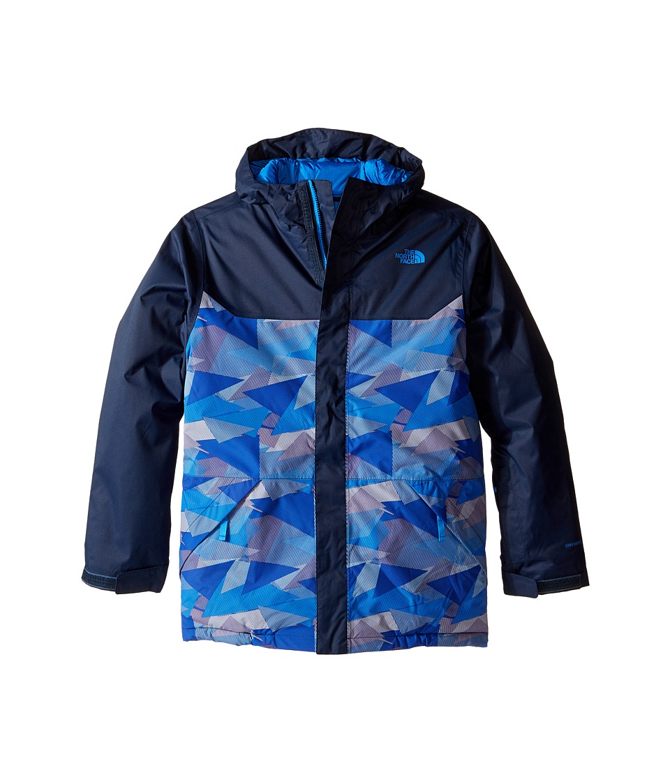 The North Face Kids - Brayden Insulated Jacket (Little Kids/Big Kids) (Jake Blue Geo Camo) Boy's Coat