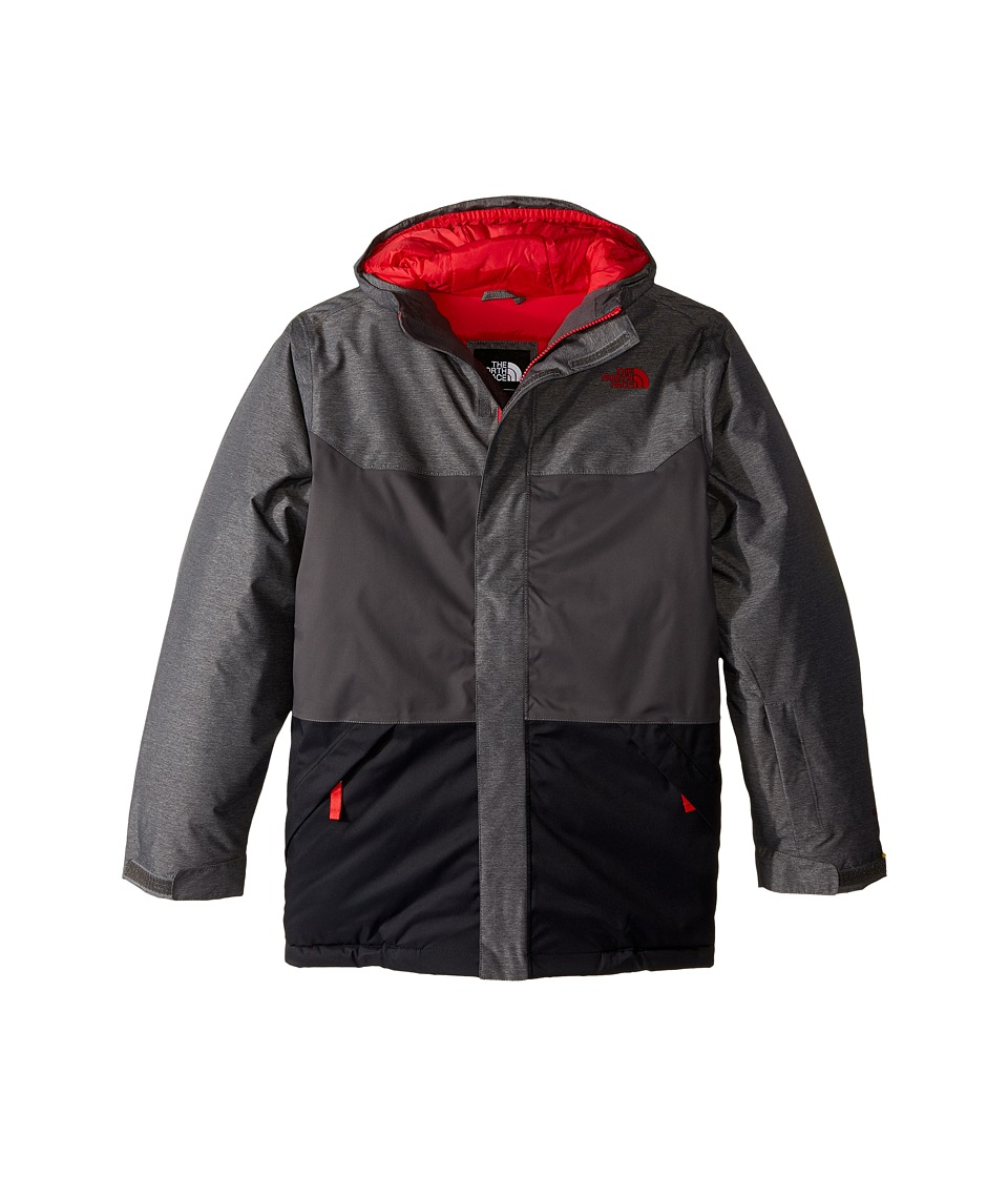 The North Face Kids - Brayden Insulated Jacket (Little Kids/Big Kids) (Graphite Grey Heather) Boy's Coat