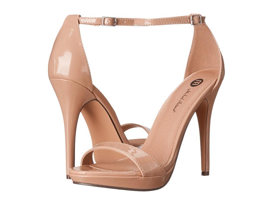 Michael Antonio - Lovina Patent (Nude 2) High Heels
