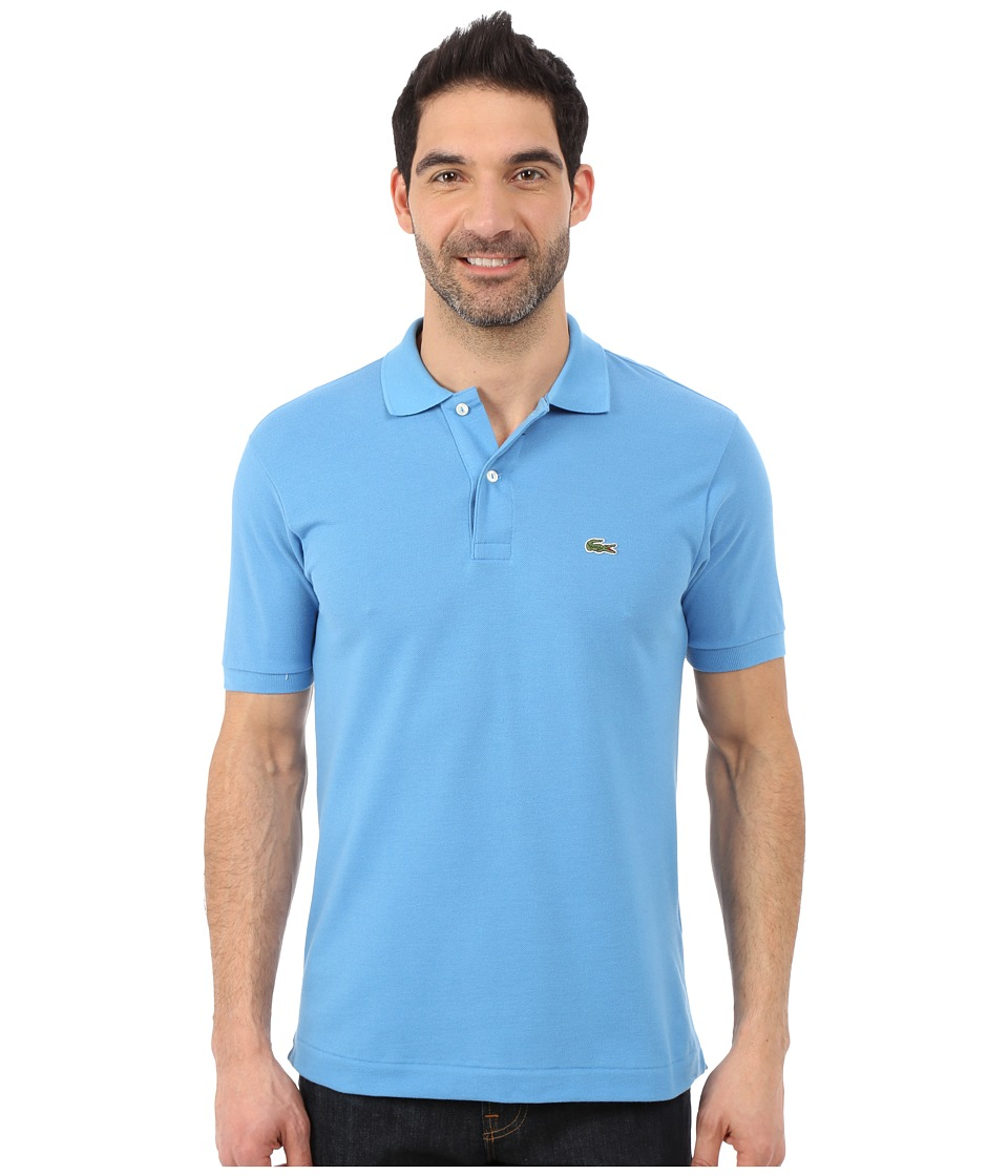 Lacoste - L1212 Classic Pique Polo Shirt (Spa Blue) Men's Short Sleeve Knit
