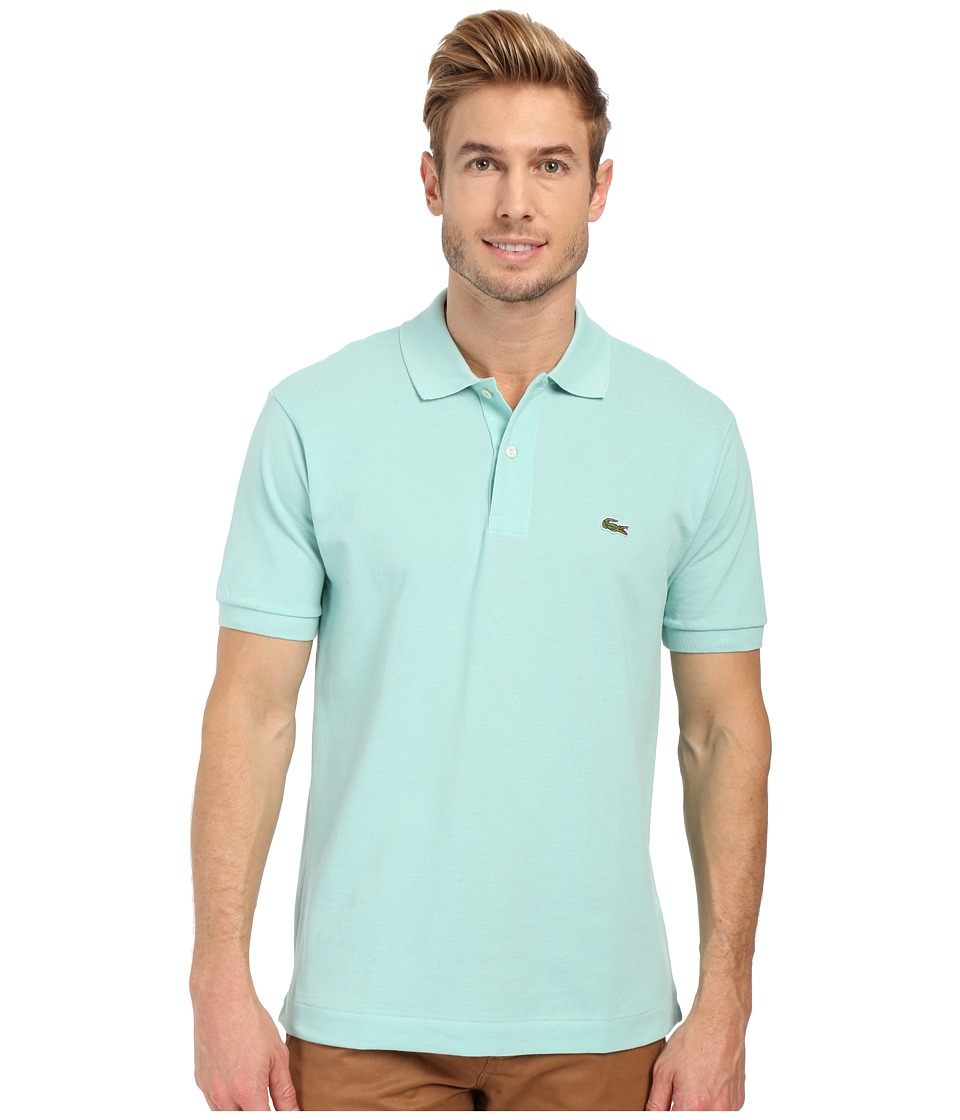 Lacoste - L1212 Classic Pique Polo Shirt (Galapagos) Men's Short Sleeve Knit