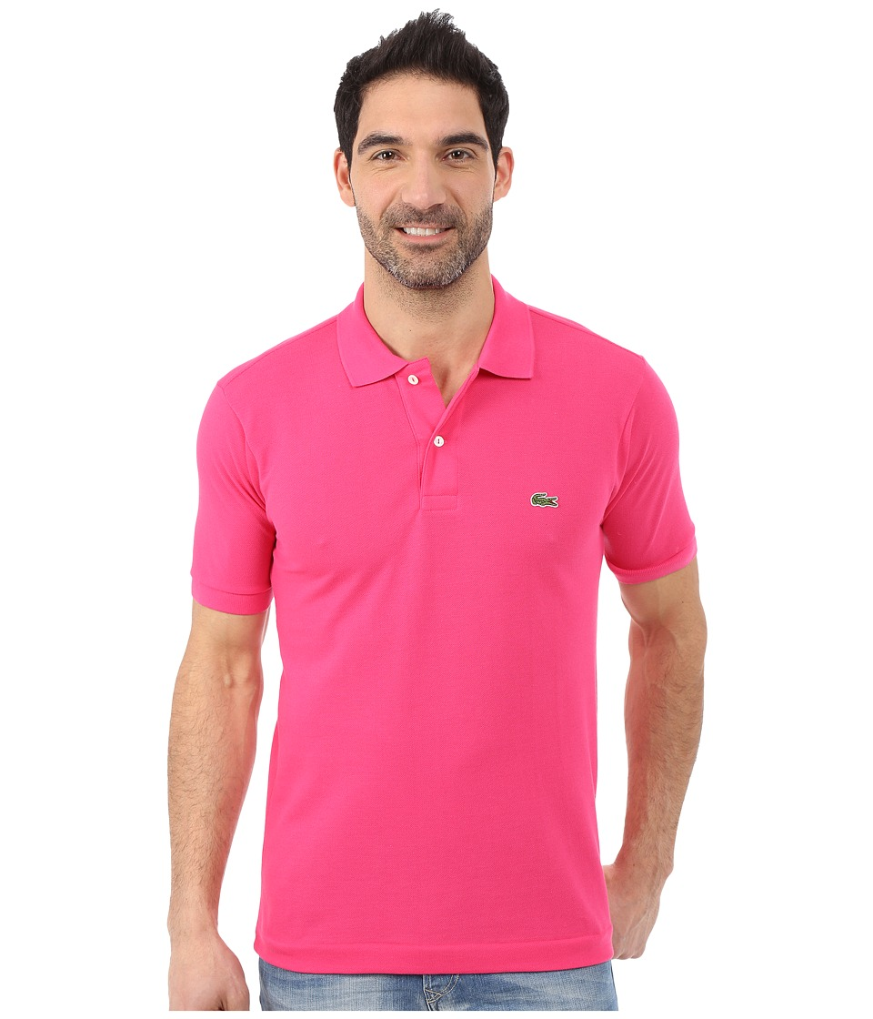 Lacoste - L1212 Classic Pique Polo Shirt (Tyrian) Men's Short Sleeve Knit