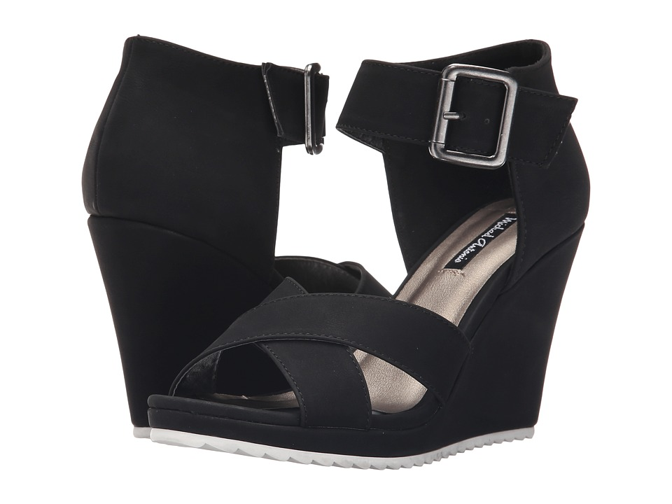 Michael Antonio - Gratia (Black) Women's Wedge Shoes