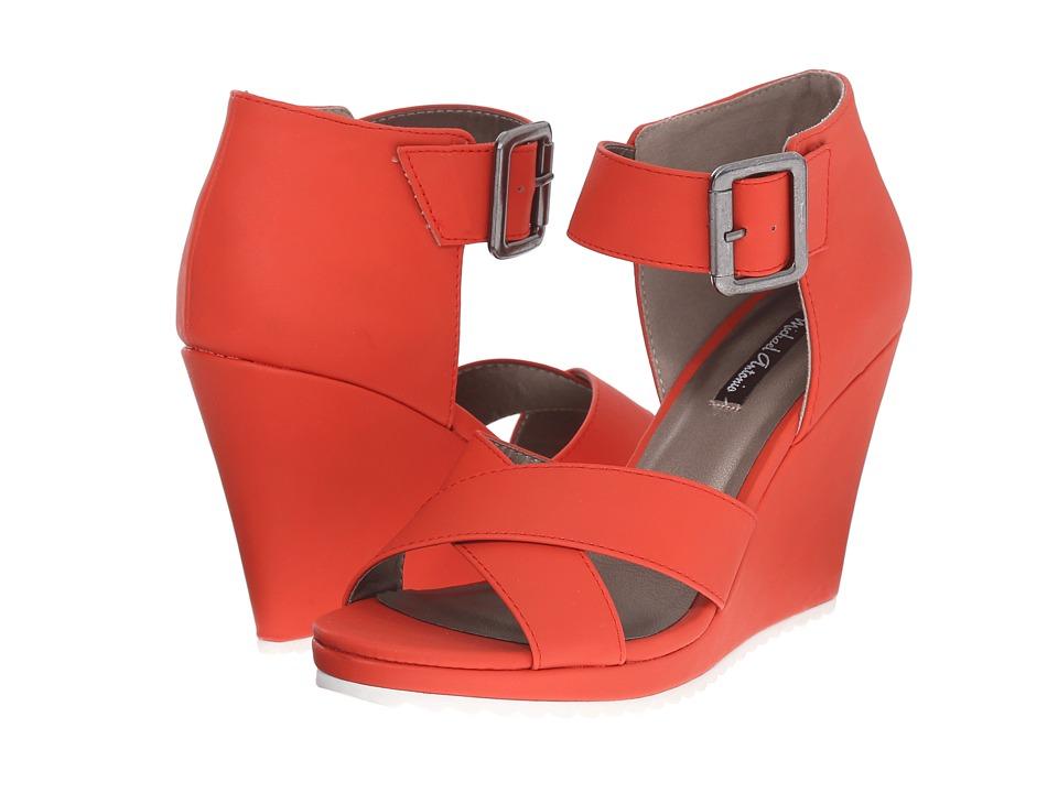 Michael Antonio - Gratia (Red) Women's Wedge Shoes