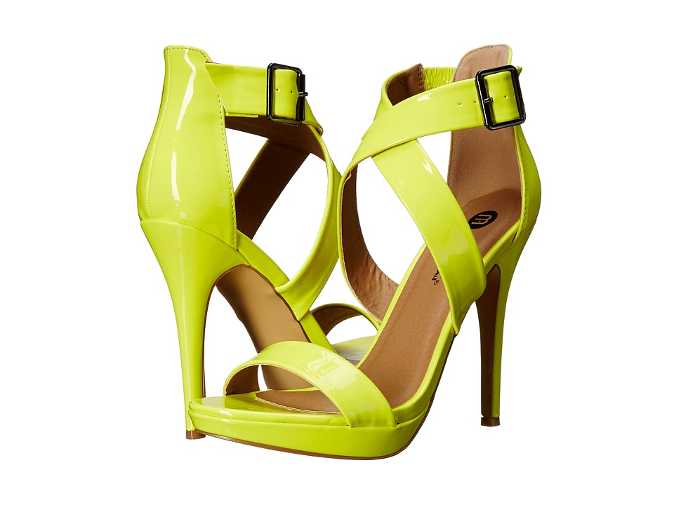 Michael Antonio - Luckey - Patent (Lime) High Heels