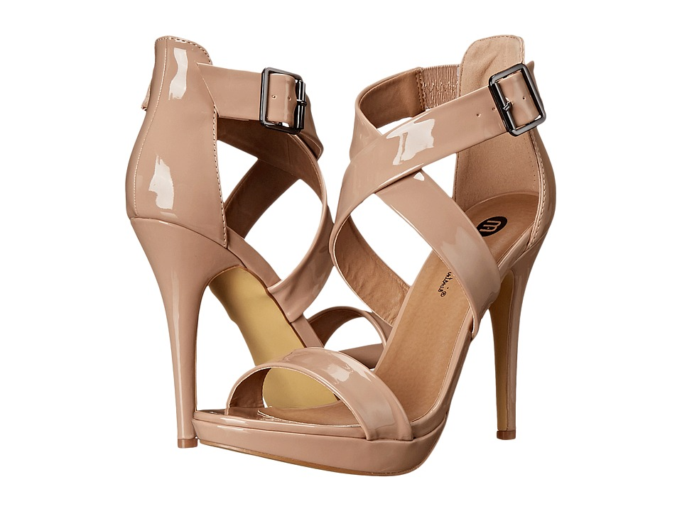 Michael Antonio - Luckey - Patent (Nude) High Heels