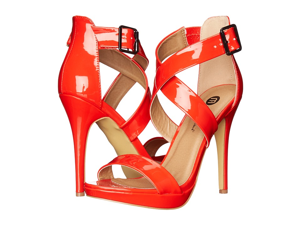 Michael Antonio - Luckey - Patent (Red) High Heels