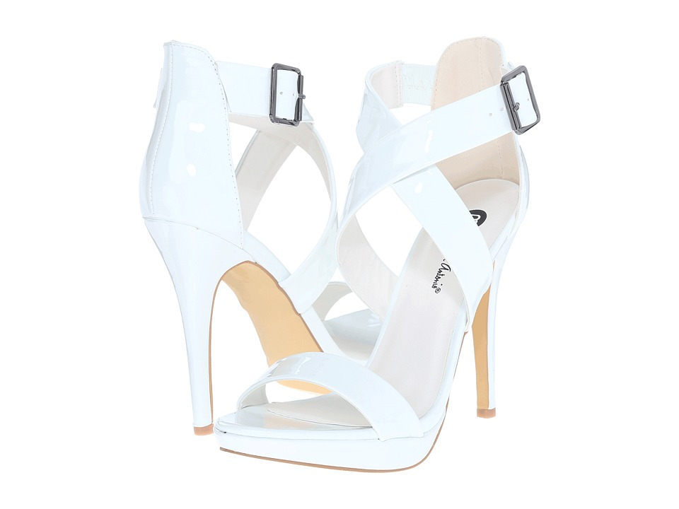 Michael Antonio - Luckey - Patent (White) High Heels