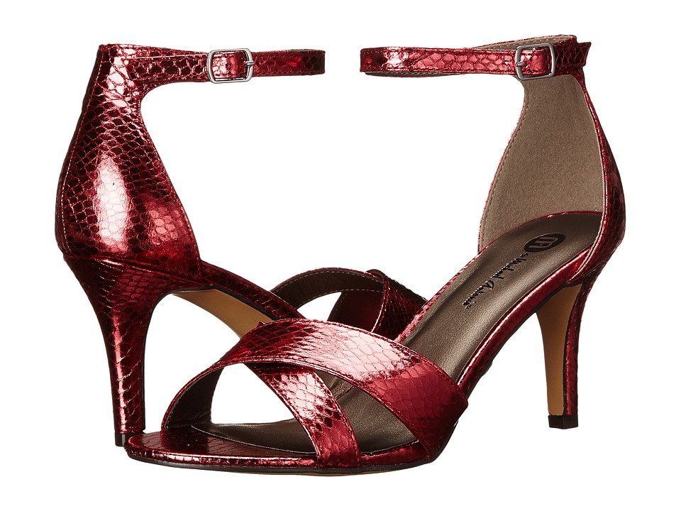 Michael Antonio - Rees - Snake (Red) High Heels