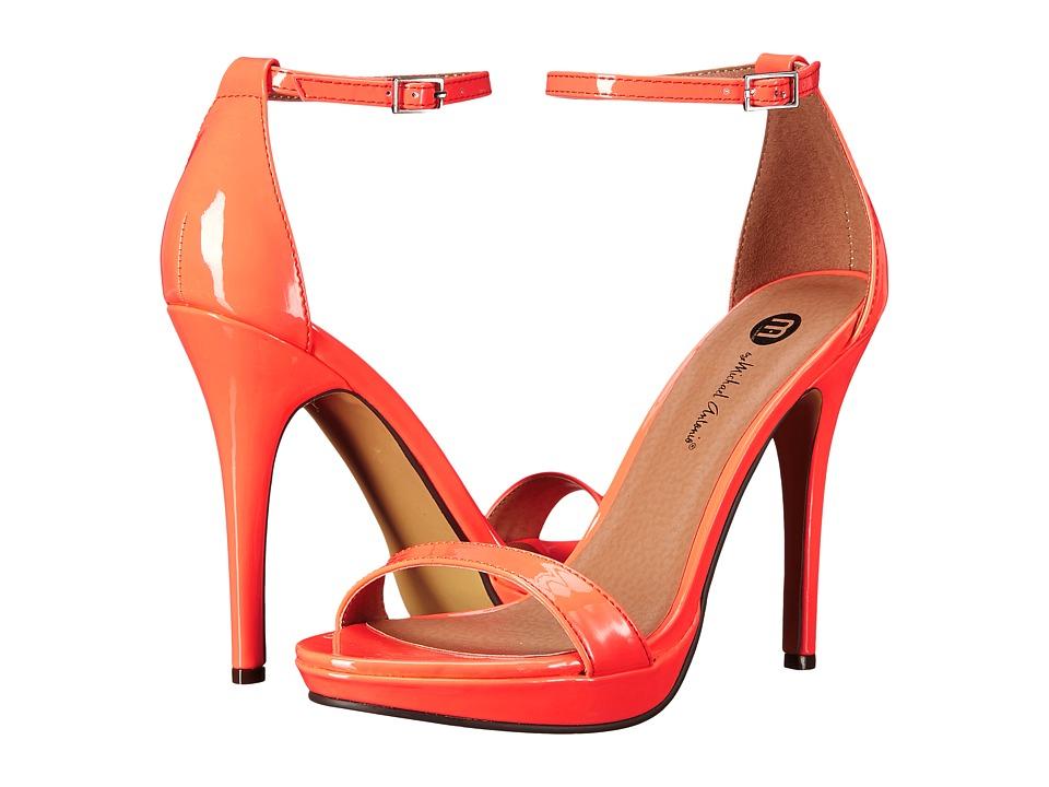 Michael Antonio - Lovina Patent (Hot Peach) High Heels