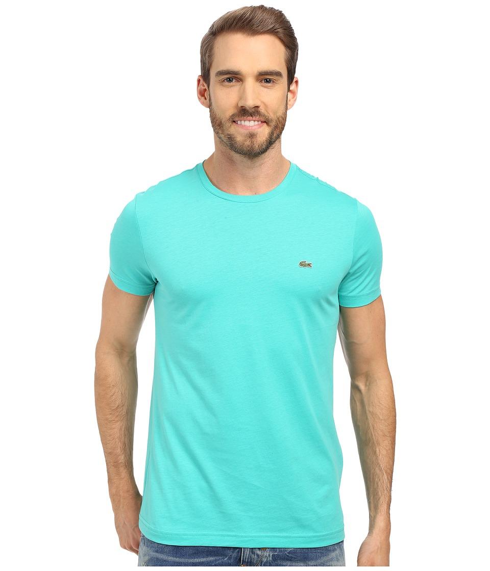 Lacoste - Short-Sleeve Pima Jersey Crewneck T-Shirt (Papeete) Men's T Shirt