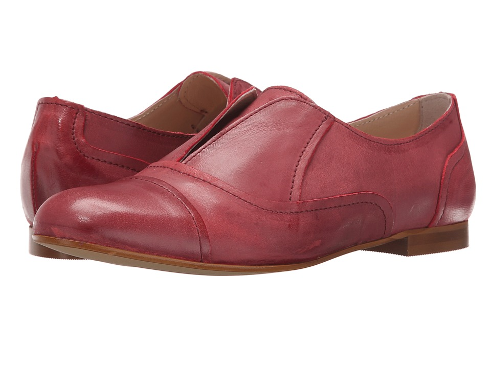 Massimo Matteo - Laceless Oxford (Bordo) Women's Slip on Shoes