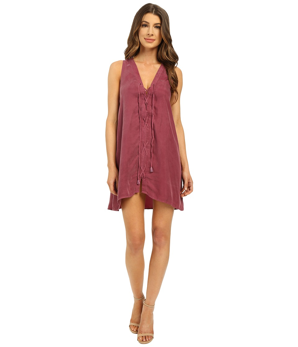 Young Fabulous & Broke - Alt Dress (Plum) Women's Dress
