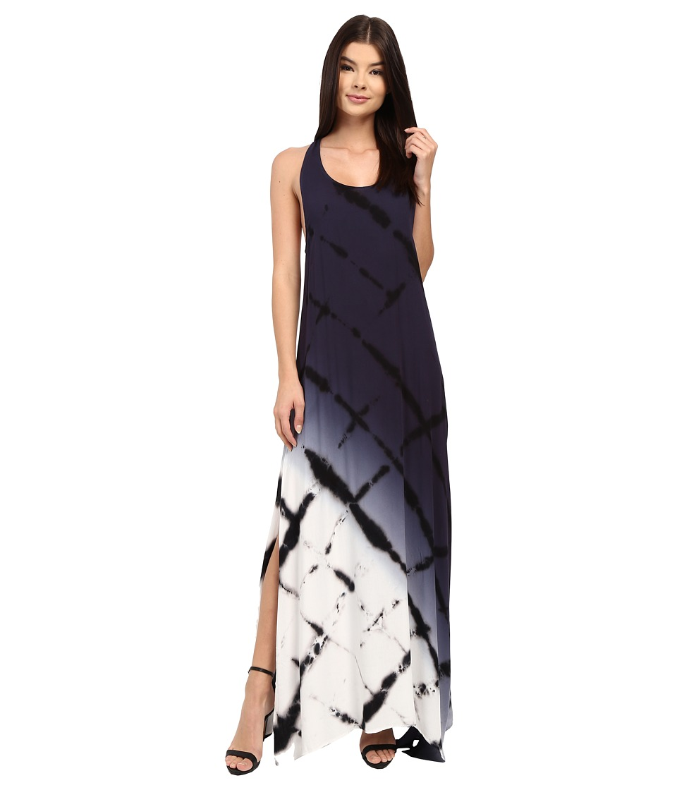 Young Fabulous & Broke - Dite Dress (Navy Diamond Ombre) Women's Dress