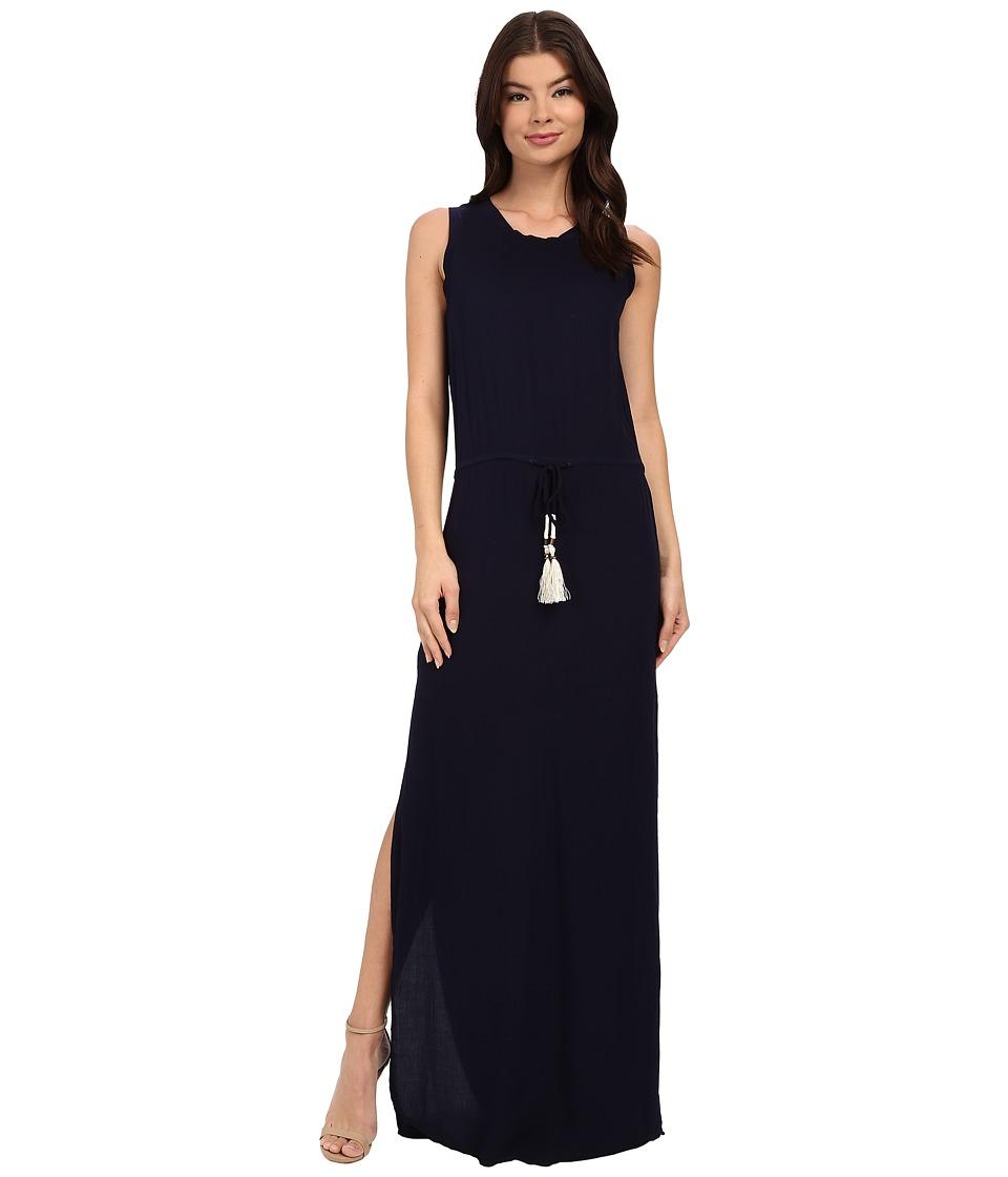 Young Fabulous & Broke - Leah Maxi (Navy) Women's Dress