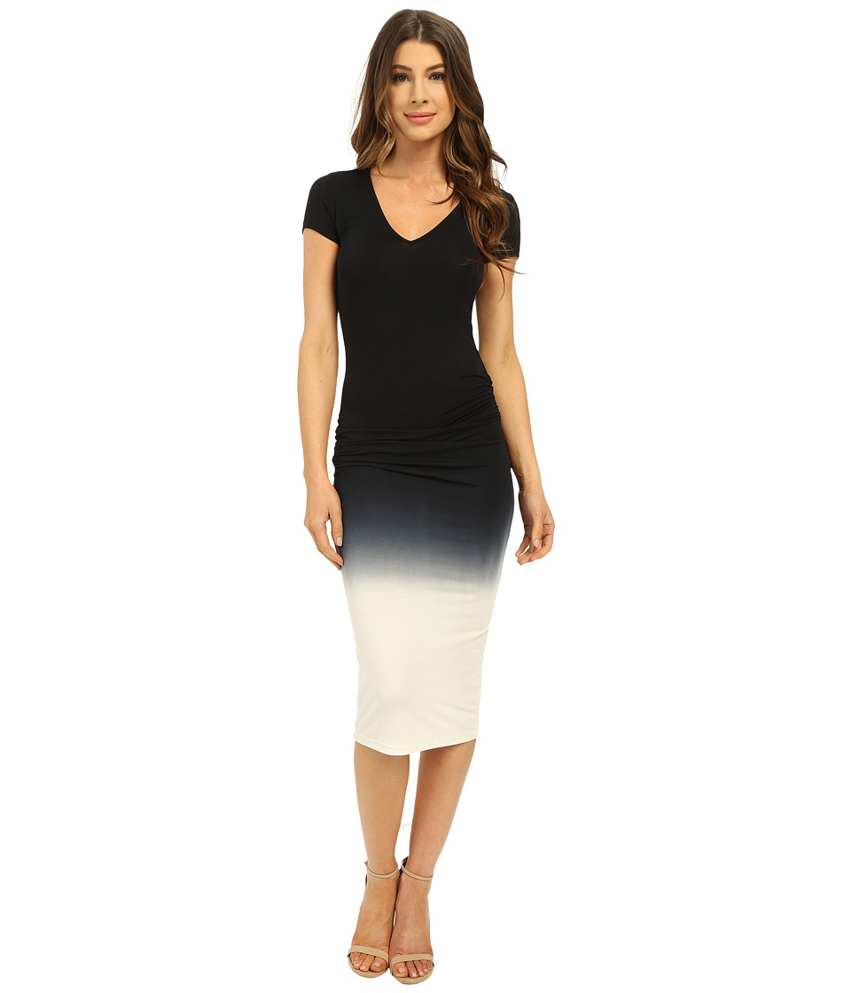 Young Fabulous & Broke - Araya Dress (Black Ombre) Women's Dress