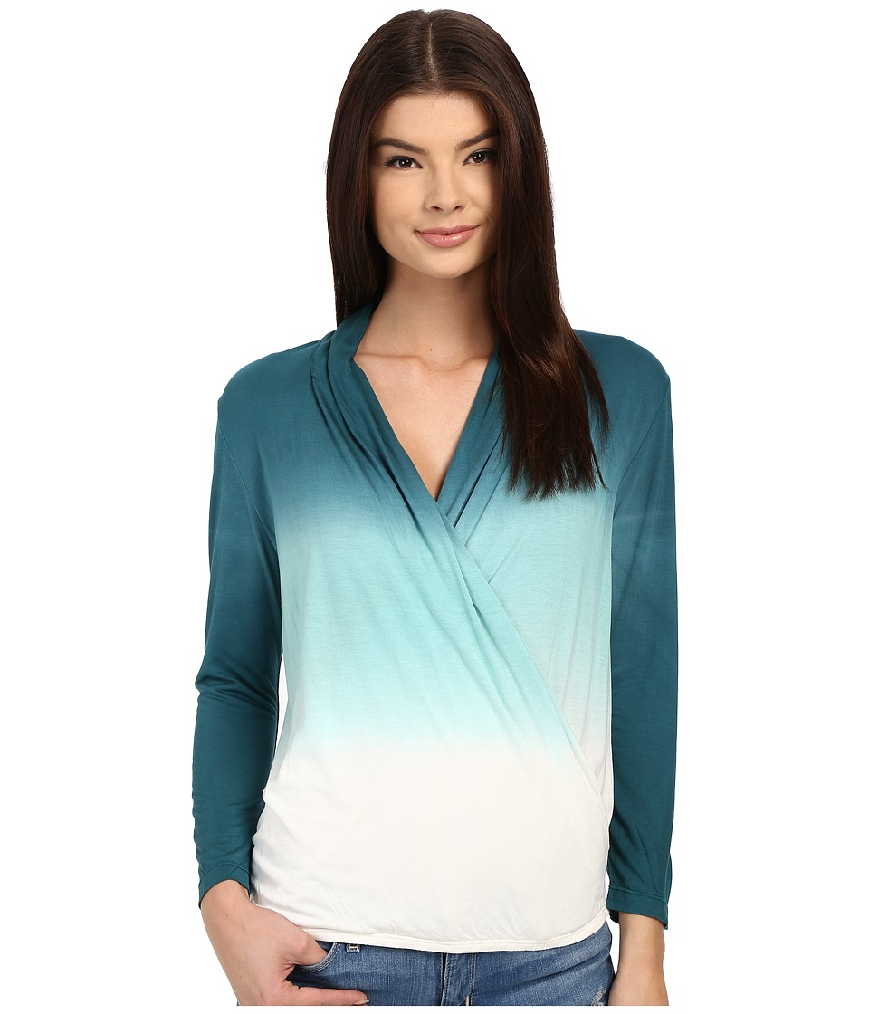 Young Fabulous & Broke - Getty Top (Sea Ombre) Women's Long Sleeve Pullover