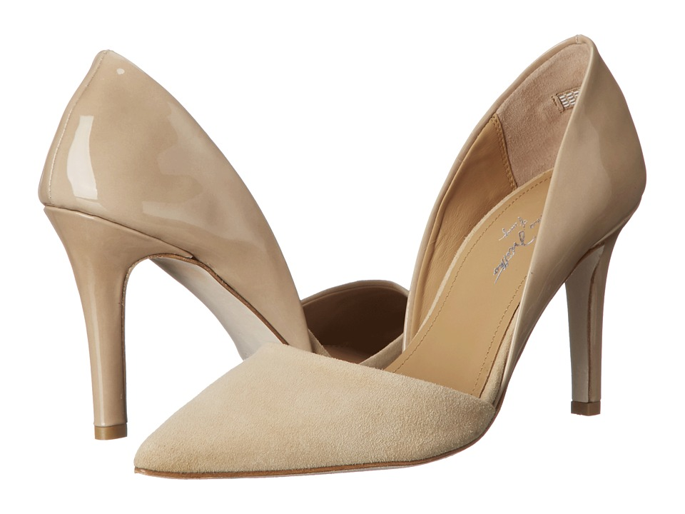 Massimo Matteo - Pointy Toe Pump (Nude) High Heels