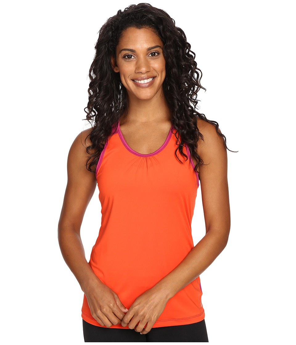 Skirt Sports - Free Flow Tank Top (Razz/Sundance) Women's Sleeveless