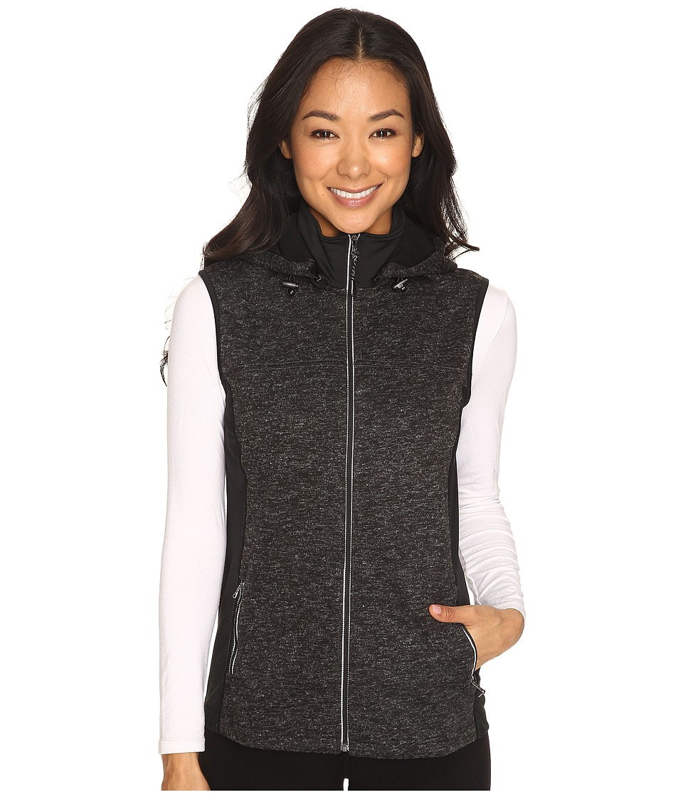 Skirt Sports - Toasty Girl Vest (Black Speckle) Women's Vest