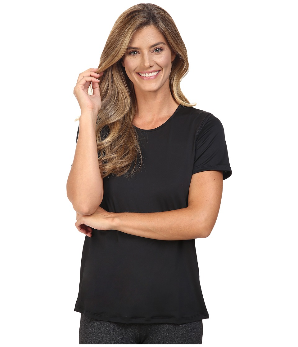 Skirt Sports - Free Flow Tee (Black) Women's T Shirt
