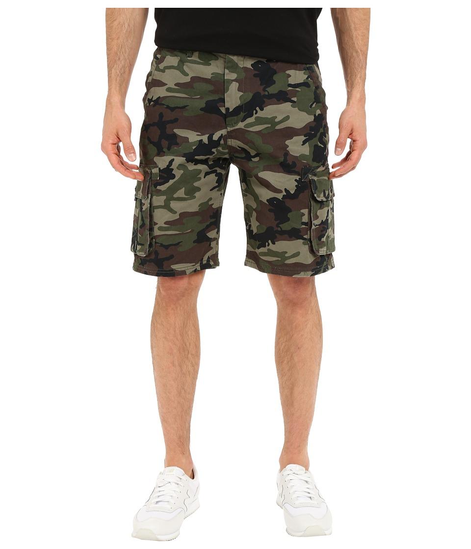 Quiksilver - Deluxe Cargo Walkshorts (Camoflage) Men's Shorts
