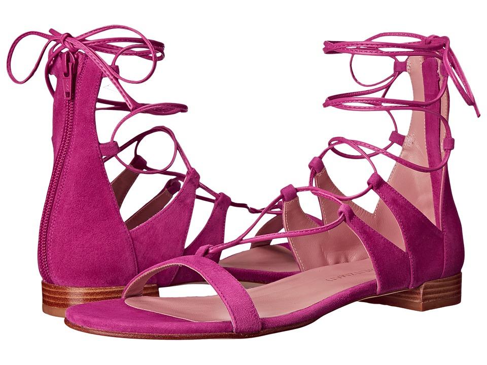 Stuart Weitzman - Tieup (Geranium Suede) Women's Dress Boots