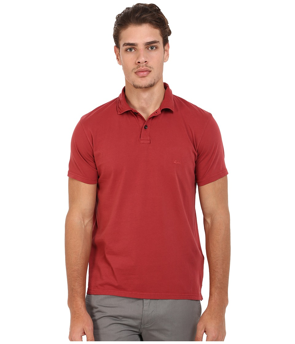 Quiksilver - Sun Cruise Knit Top (Rosewood) Men's Clothing