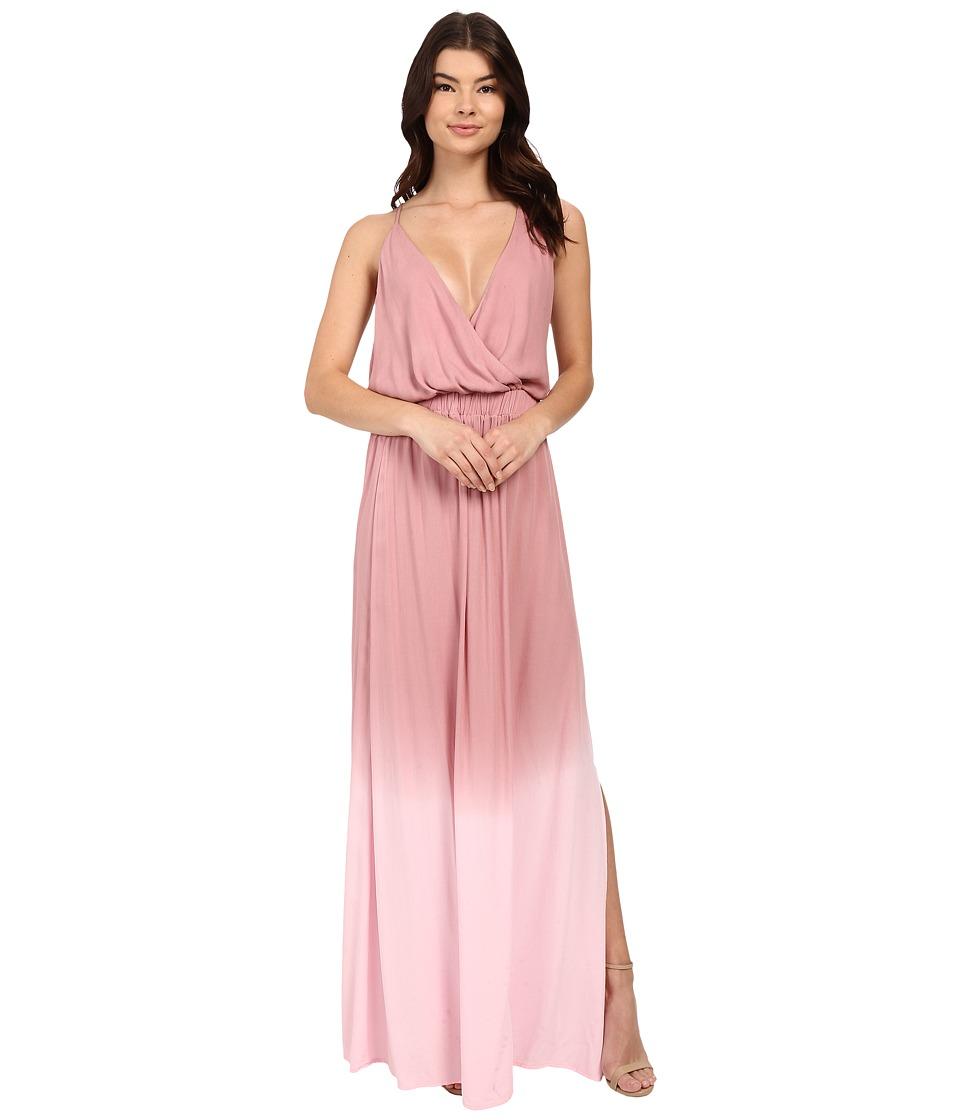 Young Fabulous & Broke - Nala Maxi (Mauve Ombre) Women's Dress