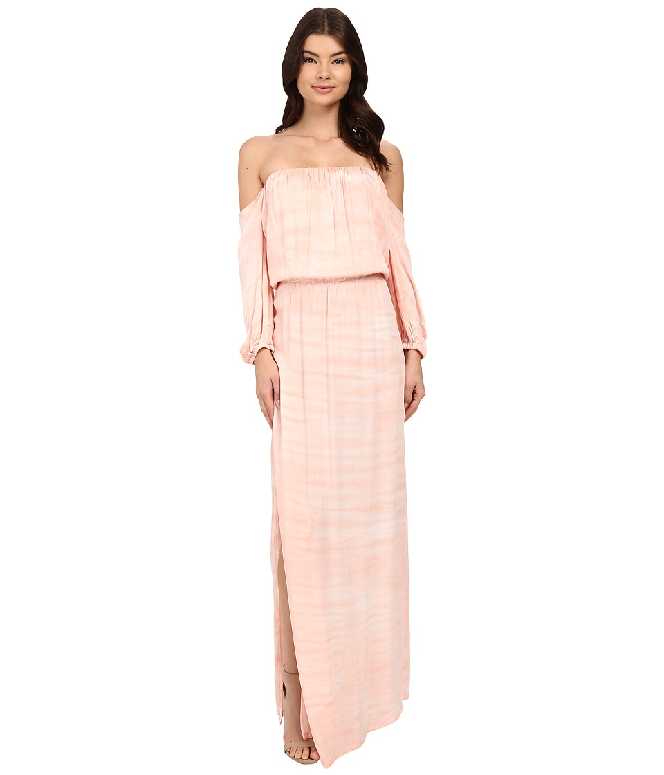 Young Fabulous & Broke - Martha Maxi (Melon Ripple Wash) Women's Dress