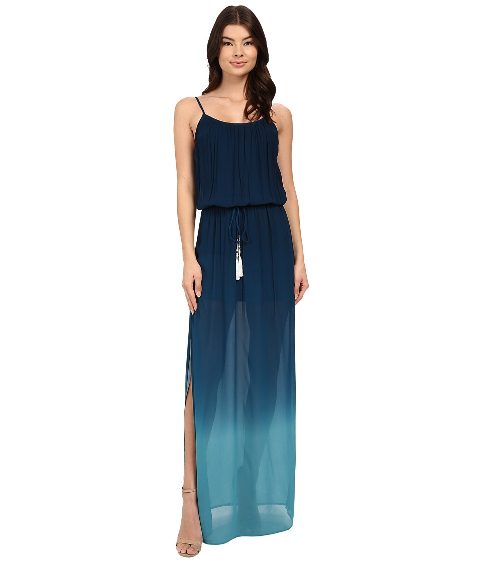 Young Fabulous & Broke - Minx Maxi (Cobalt Ombre) Women's Dress