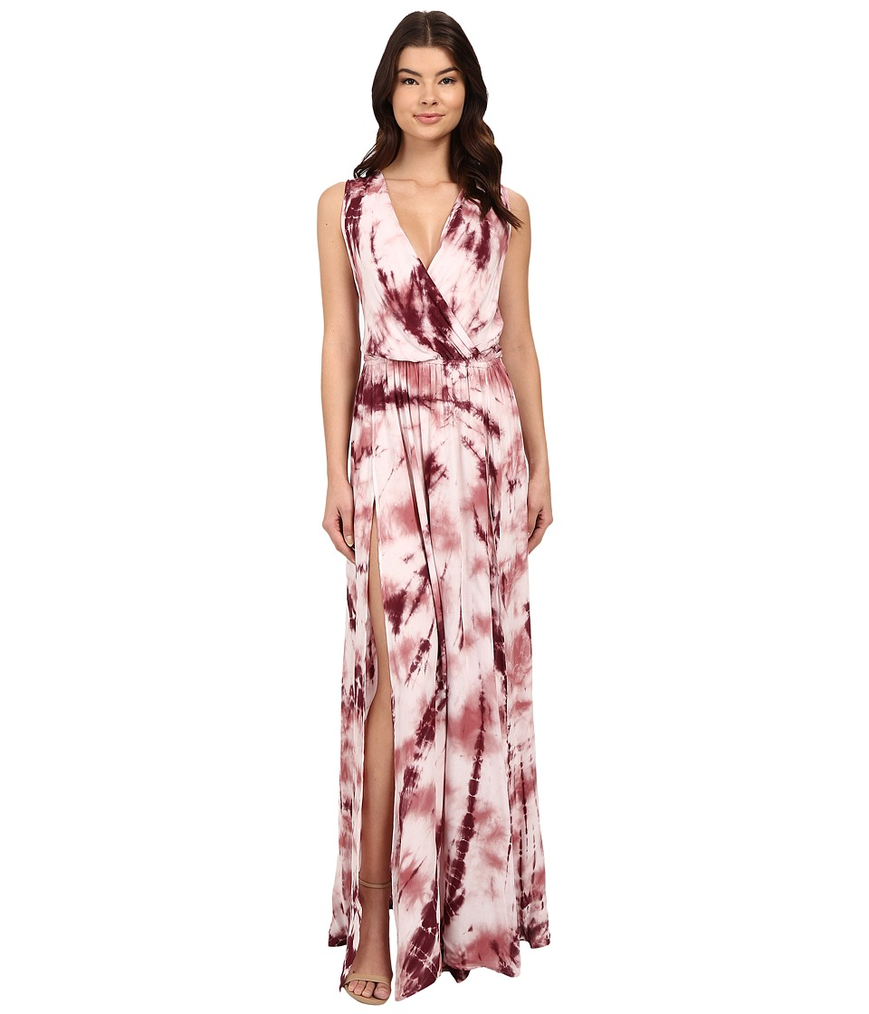 Young Fabulous & Broke - Noel Maxi (Mauve Ripple Wash) Women's Dress