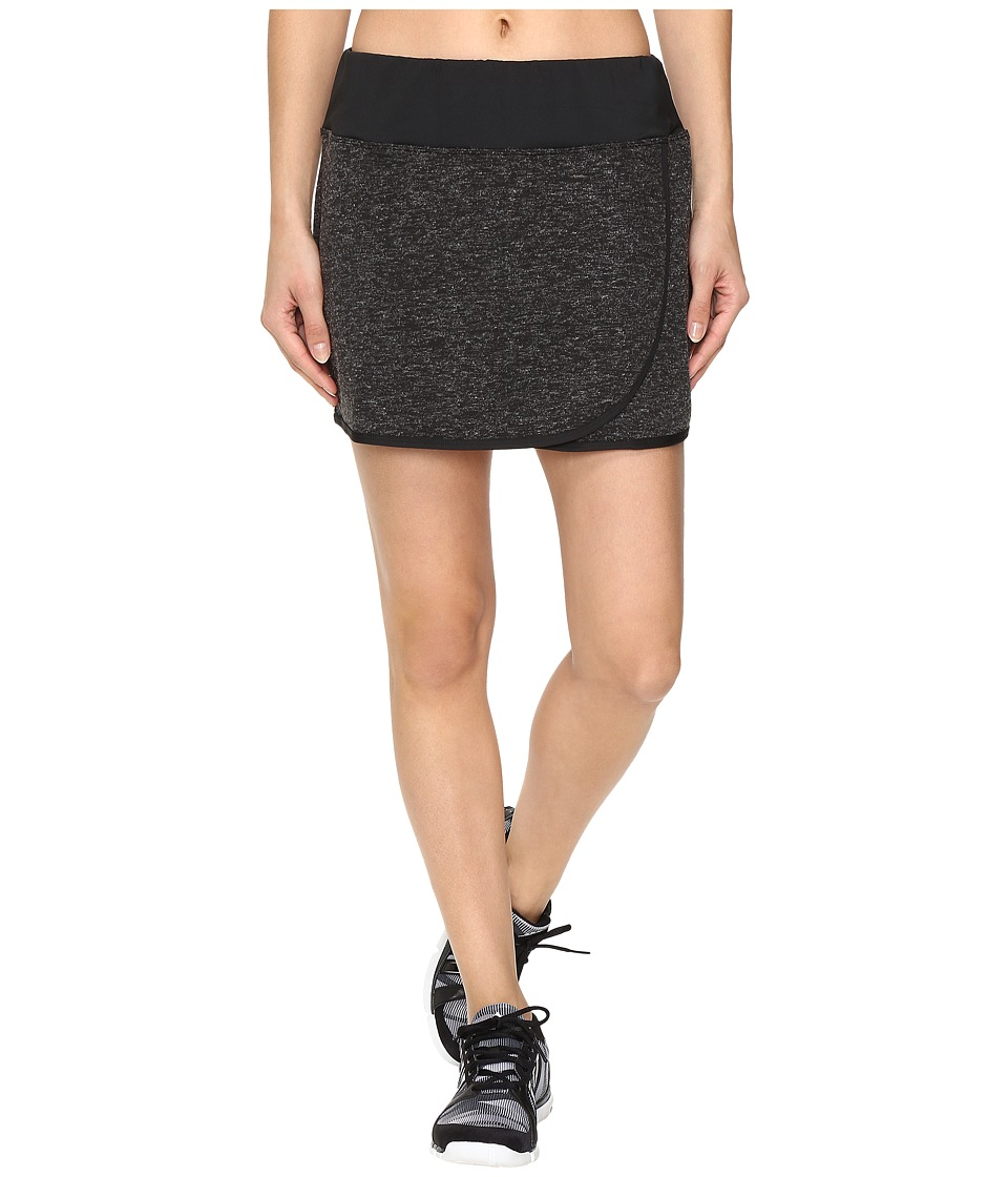 Skirt Sports - Toasty Cheeks Skort (Black Speckle) Women's Skort