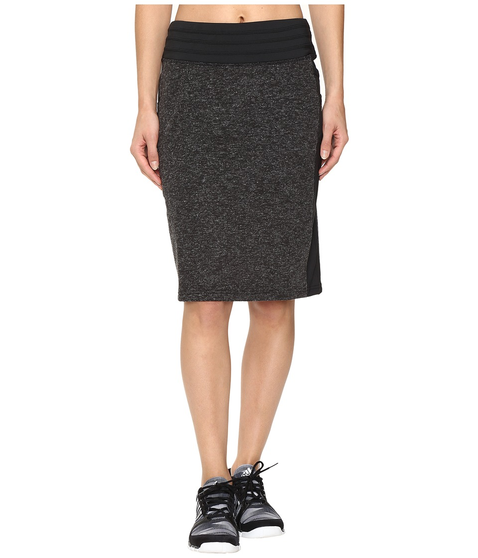 Skirt Sports - Toasty Cheeks Maxi Skirt (Black Speckle) Women's Skirt