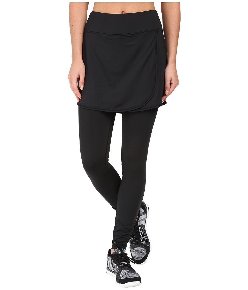 Skirt Sports - Wrapsody Skirt with Tights (Black) Women's Skort