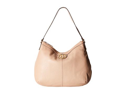 Tommy Hilfiger - Maggie-Hobo-Pebble Leather (Nude) Hobo Handbags
