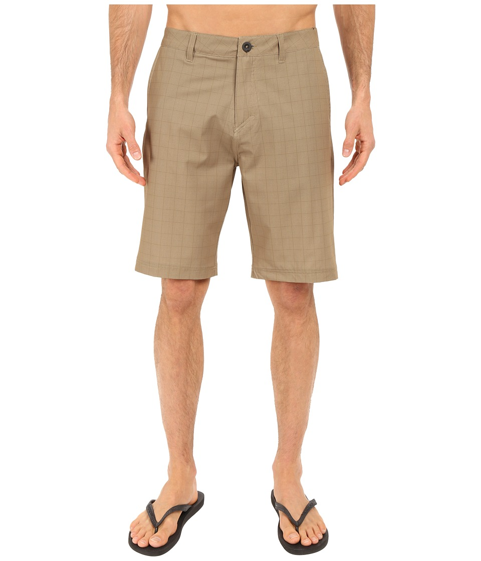 Quiksilver - Neolithi Camp 21 Walkshorts (Elmwood) Men's Shorts