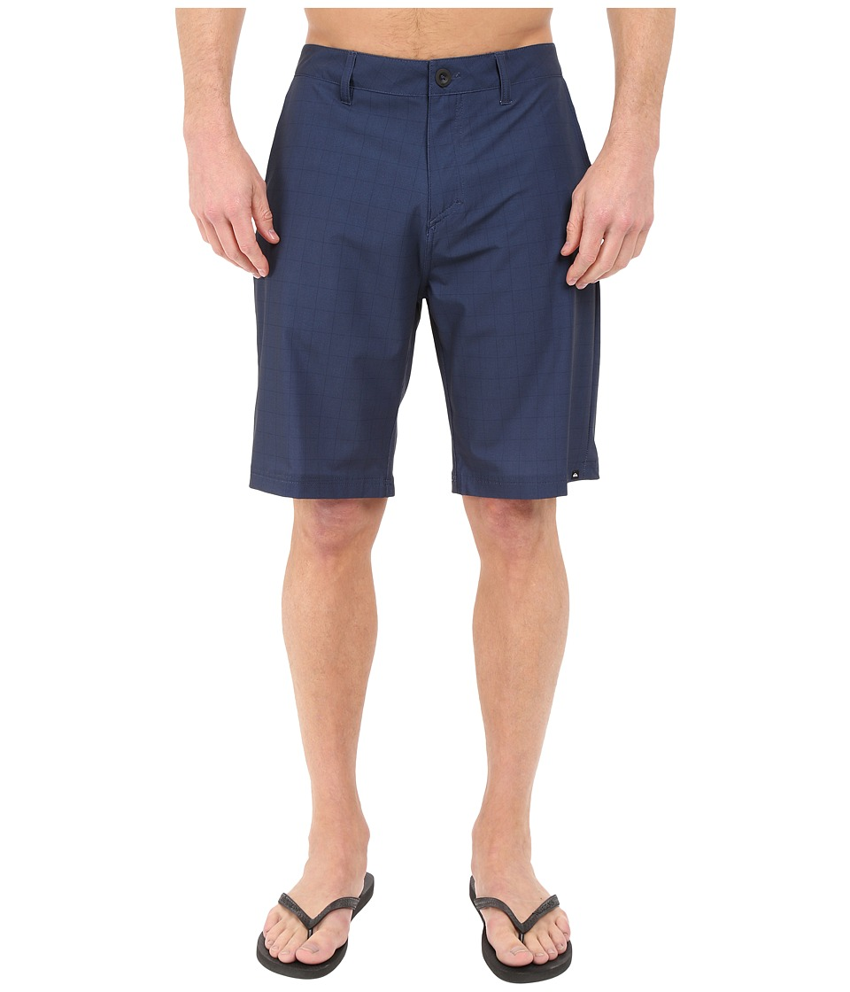 Quiksilver - Neolithi Camp 21 Walkshorts (Navy) Men's Shorts