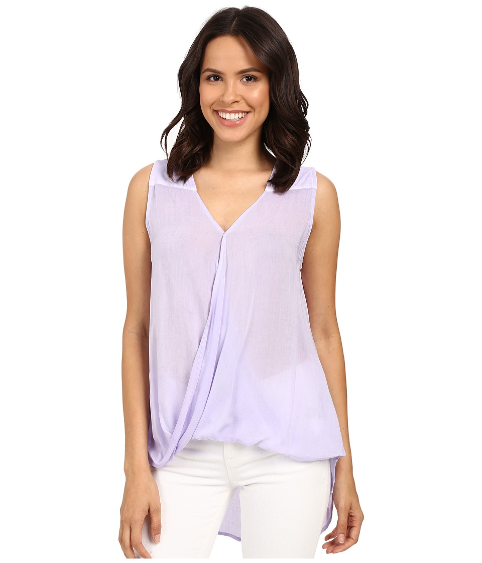 Young Fabulous & Broke - Finn Top (Lavender) Women's Blouse