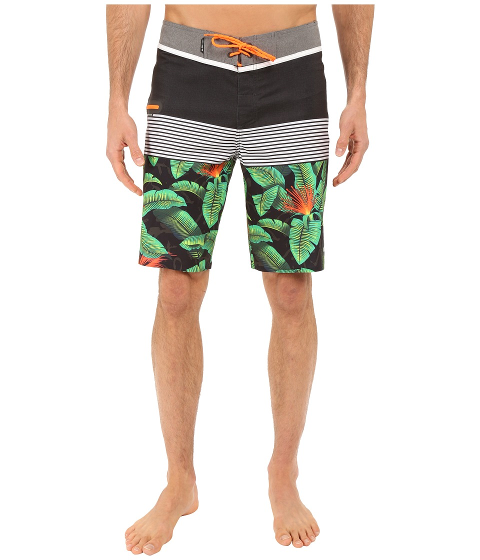Quiksilver - Division Mix 20 Boardshorts (Black) Men's Swimwear